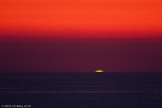Green Flash at Sunset in Sardinia | by John Coveney Photos