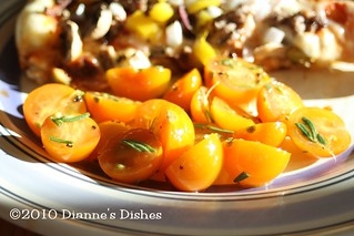 Simple Summer Tomato Salad | by Dianne's Dishes