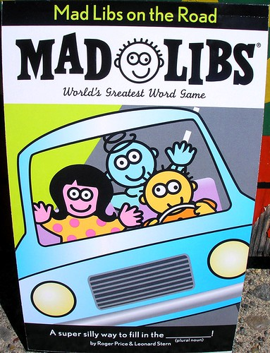 Mad Libs on the road | by Archie McPhee Seattle