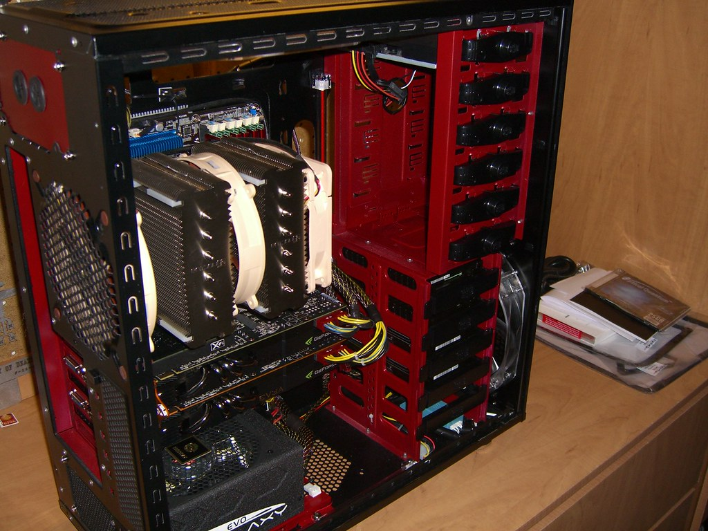 Cimg0447 Almost Done Hdd Video Cards Sound Card And Bl Flickr Wiring By Og Butch