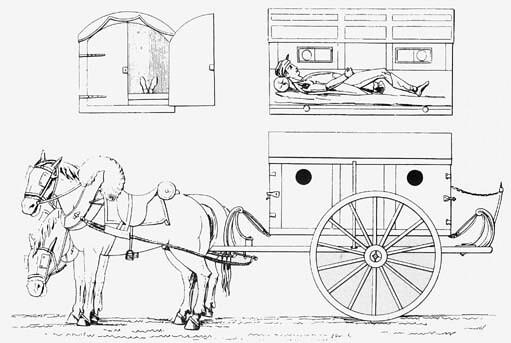 Larrey's flying ambulance | The ambulance volante invented b… | Flickr