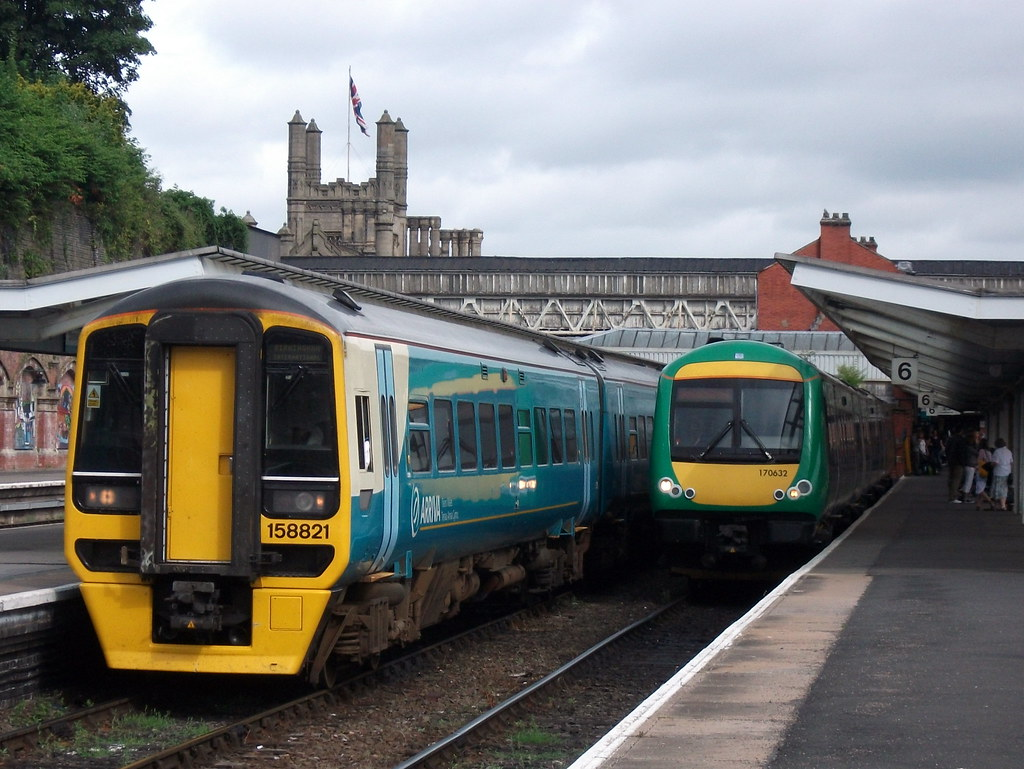 Arriva Trains Wales ATW 158821