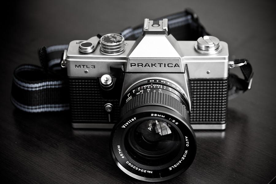 Praktica mtl with vivitar mm zar kor flickr