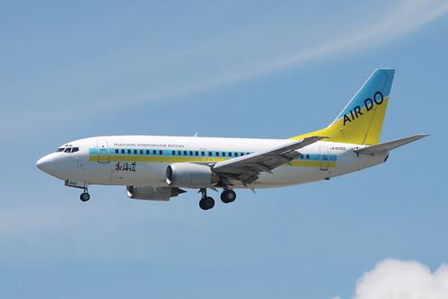AirDo B737-500(JA8595)