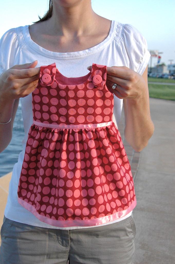 itty bitty baby dress pdf