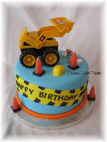 Construction Cake For Brett S 2nd Birthday I Loved The