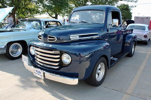 1950 ford f 1 half ton pickup truck 3 of 12. Black Bedroom Furniture Sets. Home Design Ideas