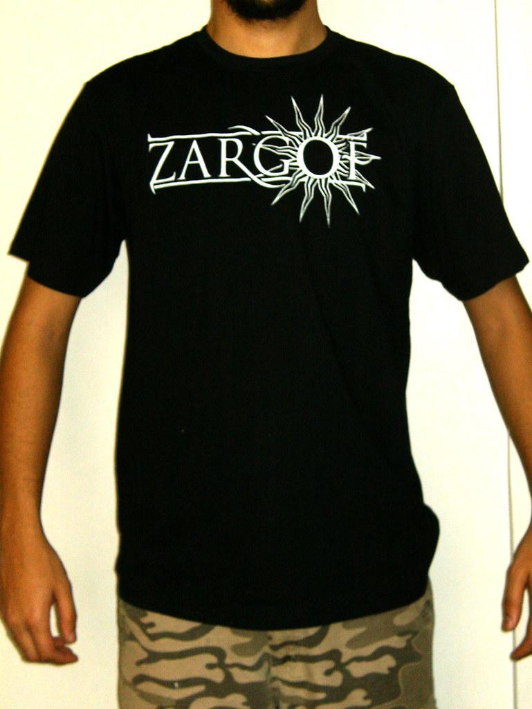 Zargof 39 s silk screen t shirt new logo a homemade silk for Silk screen t shirt