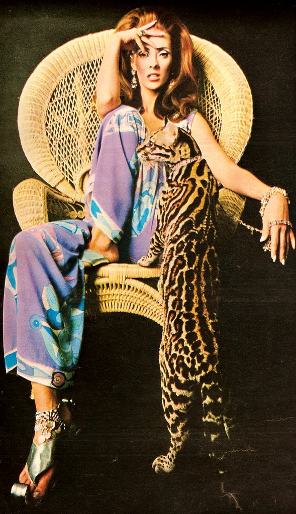 Pucci Model By Pucci French Elle May 1967 Classic Style Of Fashion First Flickr