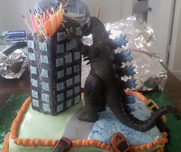 Godzilla Cake Tays Cakes Flickr