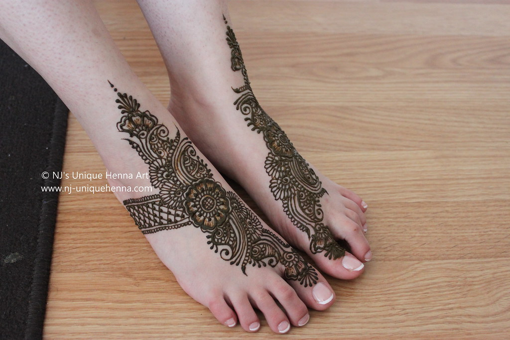 Bridal Mehndi Feet Images : Naziefeh s bridal henna feet nj unique art flickr