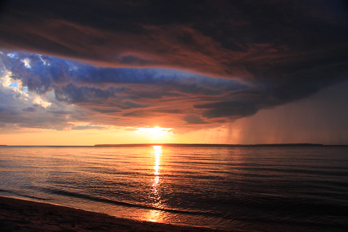 073 Stormy Sunset, Apostle Islands, Lake Superior | by trekok, enjoying