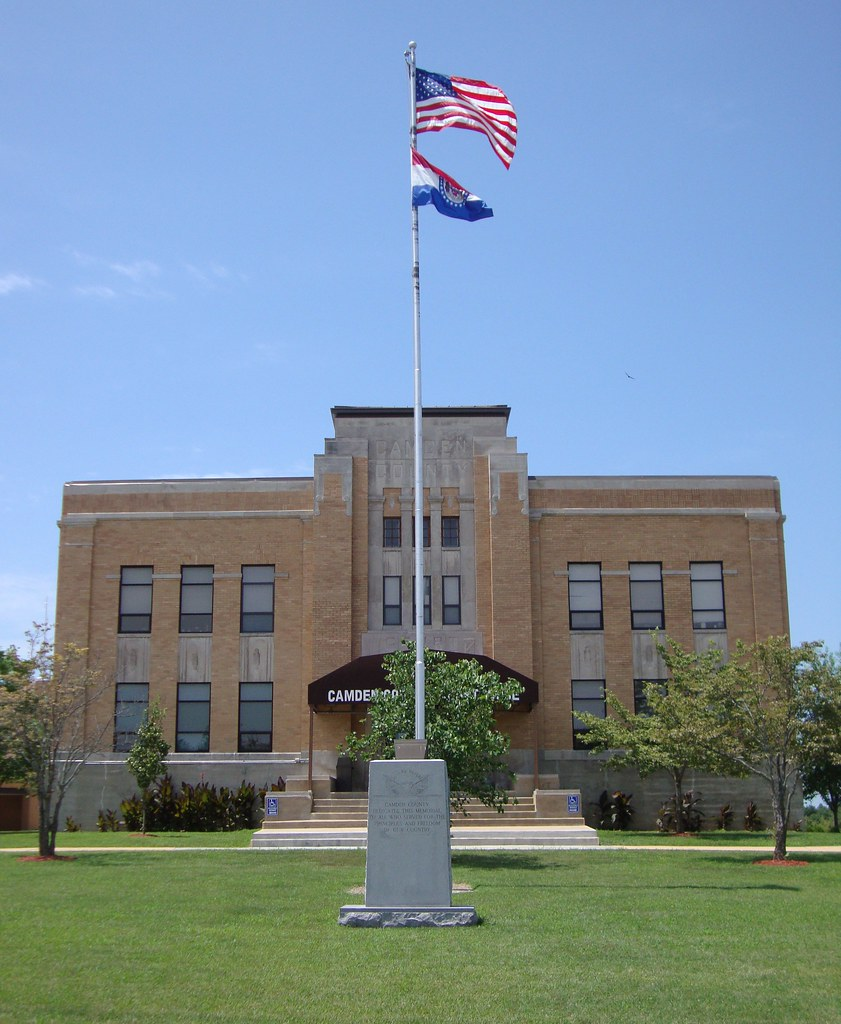 Camdenton Mo: Camden County Courthouse (Camdenton, Missouri)