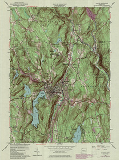 Winsted Quadrangle 1984 - USGS Topographic Map 1:24,000 | by uconnlibrariesmagic