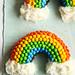 Double Rainbow Malt Cake