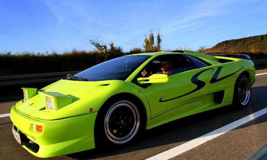Lamborghini Diablo SV Verde Scandale  Lamborghini Diablo SV  Flickr