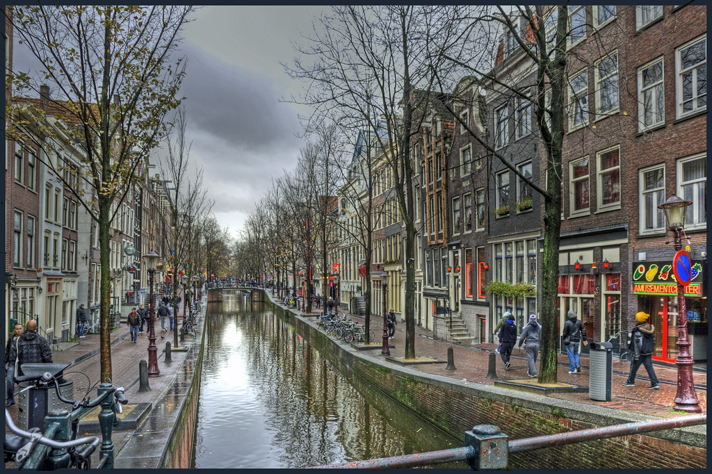 Red Light District De Wallen Amsterdam De Wallen Is