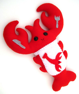 The Lobster Eats Lobster | by PterodactylPants Plush