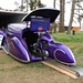 1939 Lincoln Zephyr Sedan Delivery and Deco Rides Motorcycle