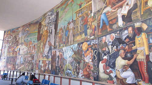 Diego rivera mural sf city college melissa delzio flickr for Diego rivera mural san francisco