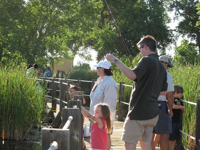 Families Fishing