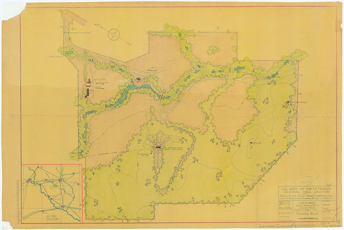 Lockhart State Park - Master Plan - SP51_014 | by Texas State Archives