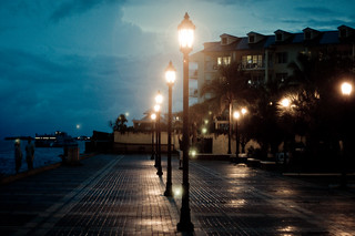 """I have walked out in rain - and back in rain. I have out walked the furthest city light. "" 