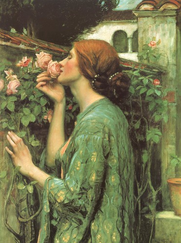 "John William Waterhouse, ""The Soul of the Rose"" 