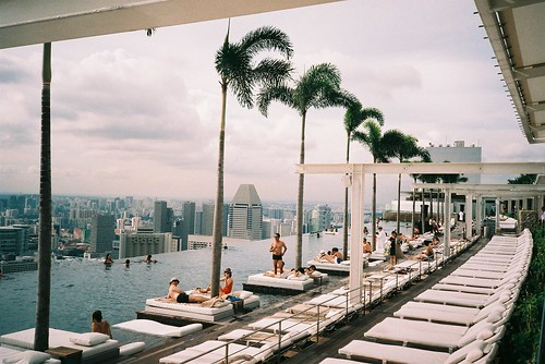 infinity pool at marina bay sands | by jamiehladky