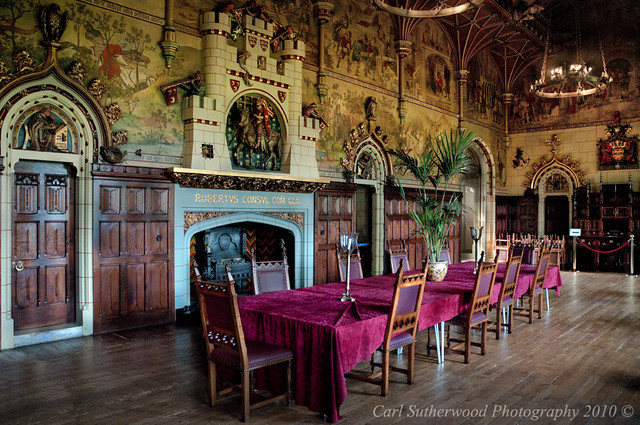 Foyer Wales Home : Cardiff castle banquet hall flickr photo sharing