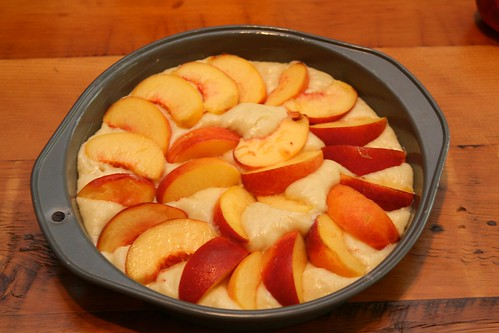 Peach Buckle Layer | lagourmandesse.com/?p=696 Made with fre ...