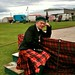 Helmsdale and District Highland Games 2010 This years Chieftain - Edwyn Collins