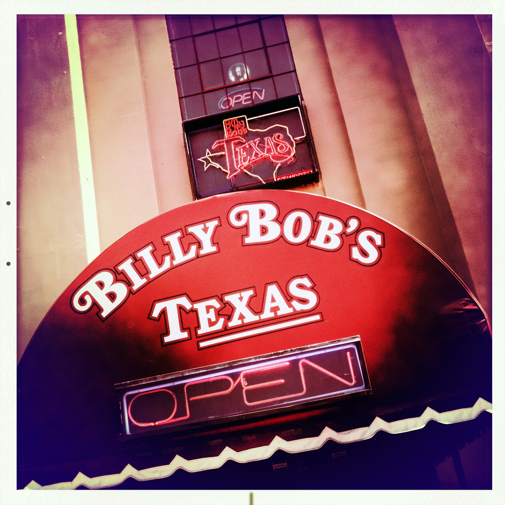 Billy Bob S Honky Tonk Stockyards Historic Fort Worth Texa