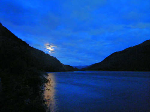 Moon Rises Over Loch Eck | by Click And Pray