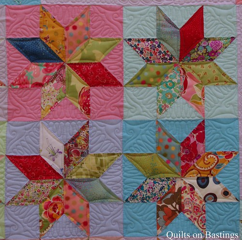 Eight Pointed Star Quilt | www.quiltsonbastings.blogspot.com ...