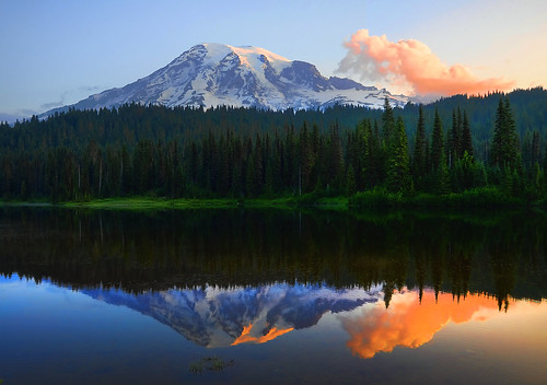 Good morning from Mt. Rainier | by Deby Dixon