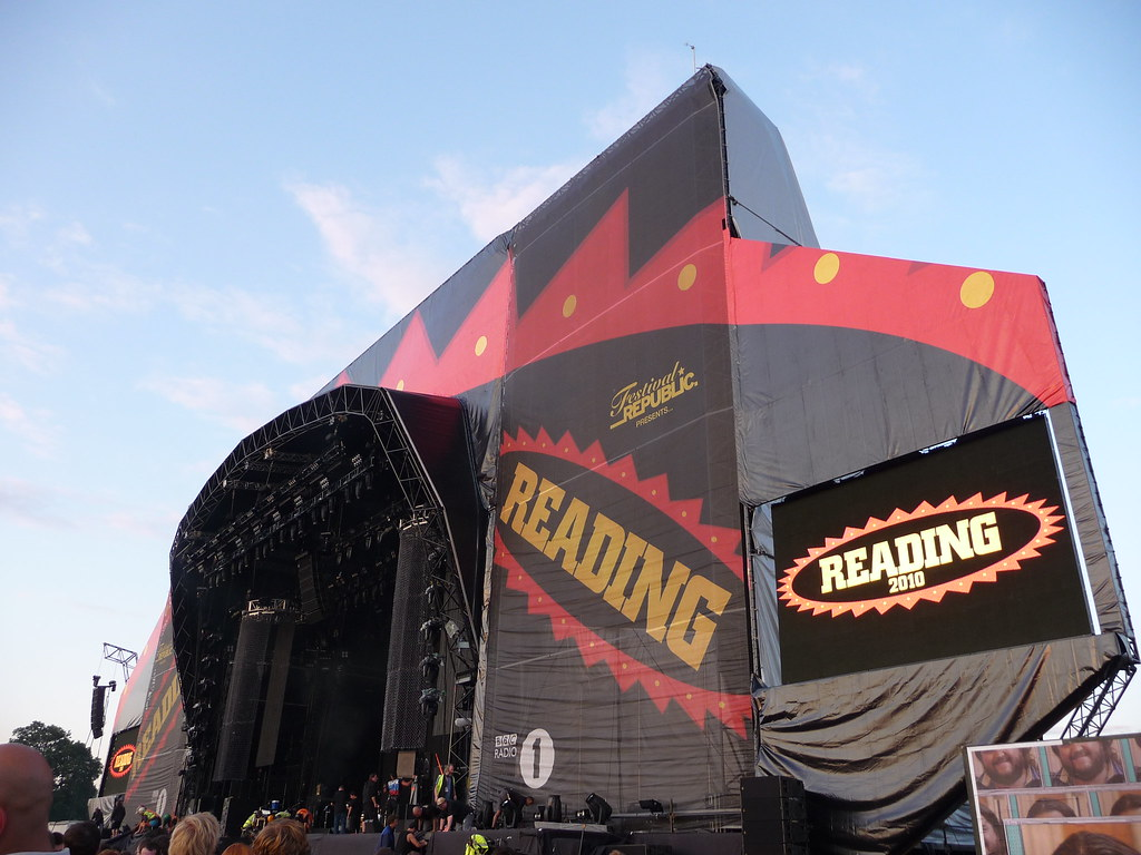 Reading Festival main stage by John McGarvey