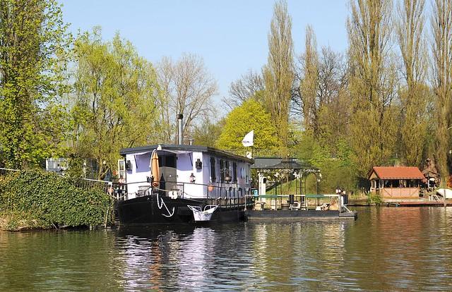 6252 billeufer mit hausboot fl sse in hamburg bille flickr photo sharing. Black Bedroom Furniture Sets. Home Design Ideas
