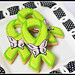 Ribbon Cookies with Royal Icing Butterfly Transfers