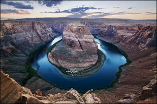 USA - Colorado river - Sunset over Horseshoe Bend | by Mathieu Soete