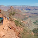 Grand Canyon NP Bright Angel Trail Group Hiking _0215