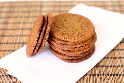 SMS Gingersnaps | by Tracey's Culinary Adventures