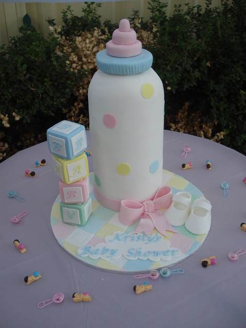 Baby Bottle Cake Images : Flickr - Photo Sharing!
