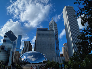 Chicago's architecture & CLOUD GATE | by MayteVidri (busy / ocupada)
