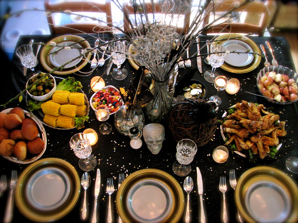 Harry Potter Party Hogwarts Dining Table Feast