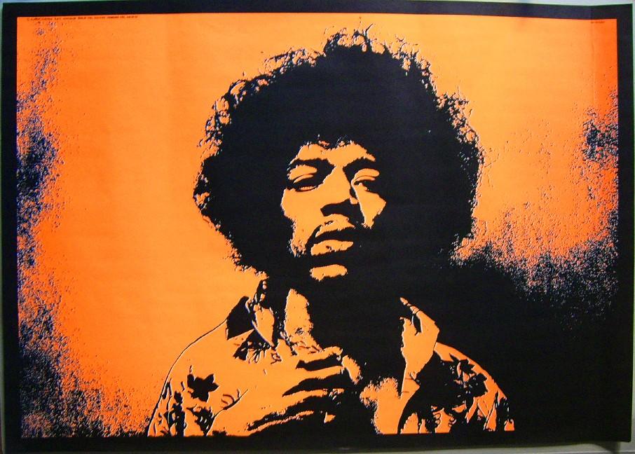 Jimi Hendrix Poster : Jimi Hendrix Poster : Bernd Sauer ...