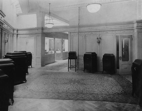 hmv 363 Oxford Street, London - Part of instrument salon at sales headquarters