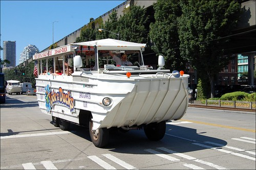 Ride the ducks of seattle the dukw d built in 1942 u Built in seattle