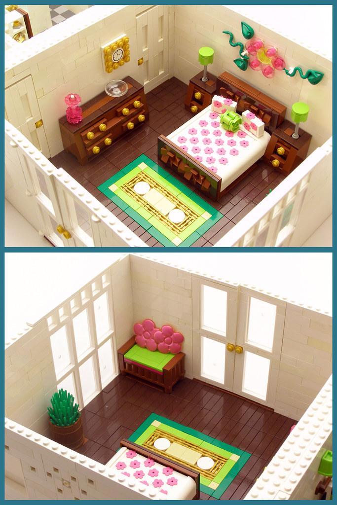 bedroom the inspiration for this room began with a bedspre flickr. Black Bedroom Furniture Sets. Home Design Ideas