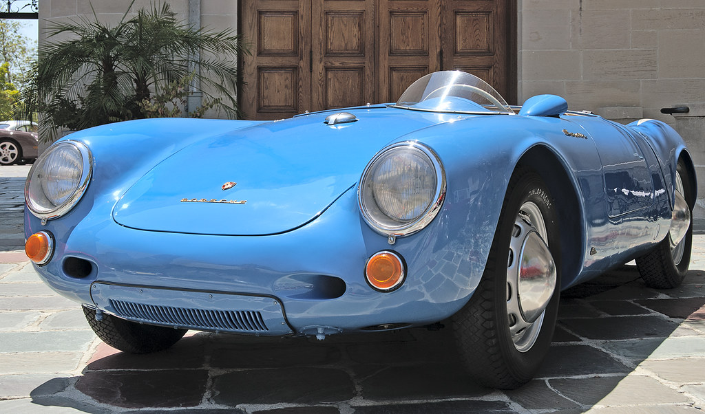 1950s Porsche 550 Spyder This Rare And Expensive